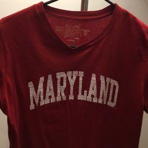 red maryland shirt